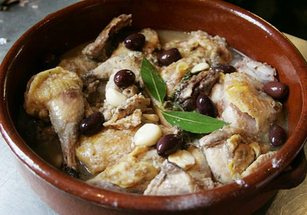 Lemony pheasant recipe