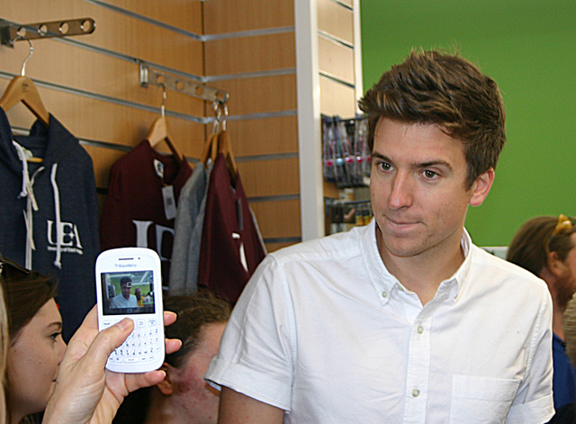 UEA and Greg James (1)