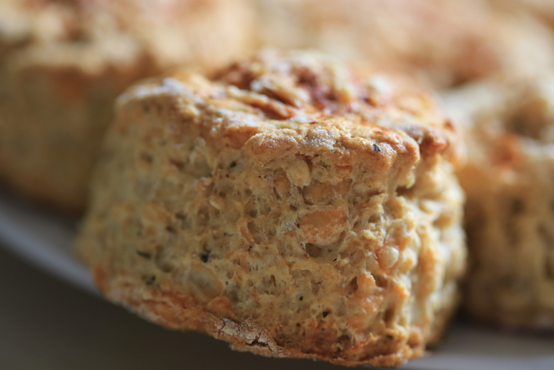 Herby cheese scones (10)