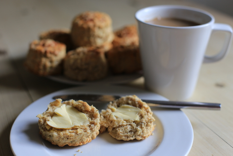 Herby cheese scones (8)