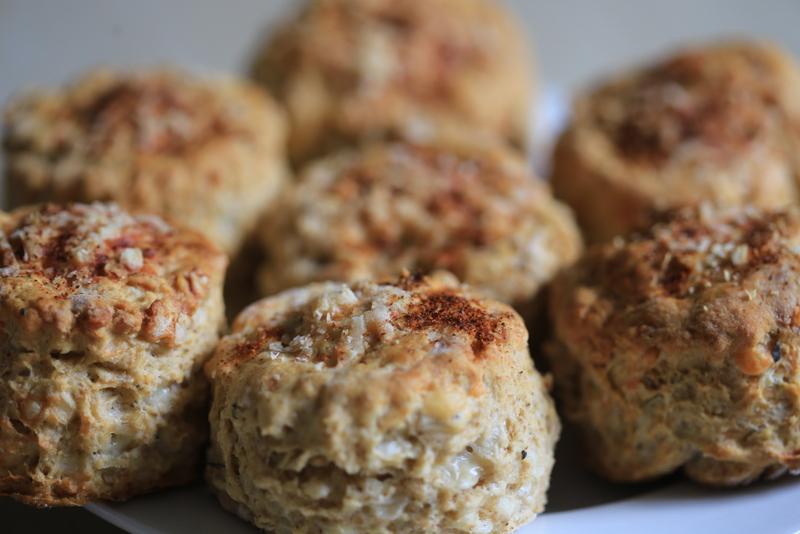 Herby cheese scones (9)